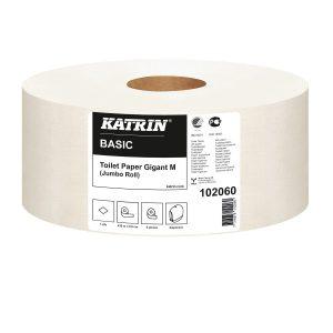 102060 Katrin Basic Gigant M WC-Paperi